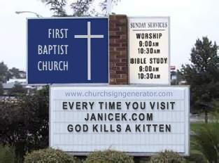 The church says...