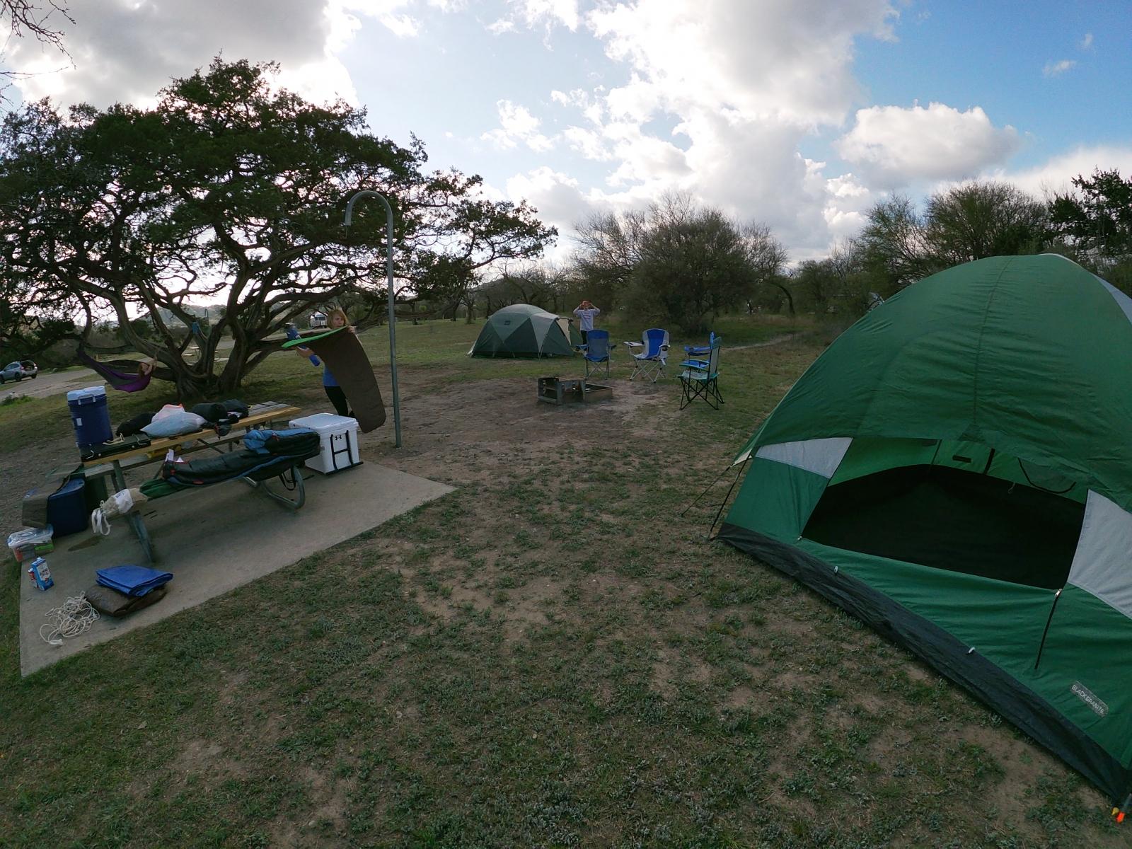 Campsite again