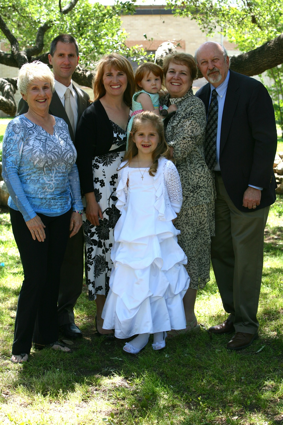 Maly's first communion